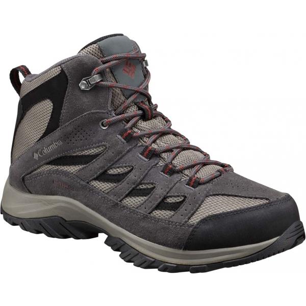 Columbia CRESTWOOD MID černá 12 - Pánská multisportovní obuv