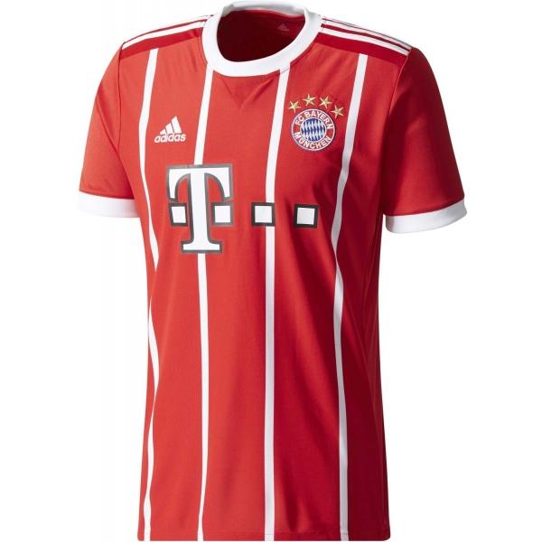 adidas FCB H REPLICA JERSEY červená M - Futbalové tričko