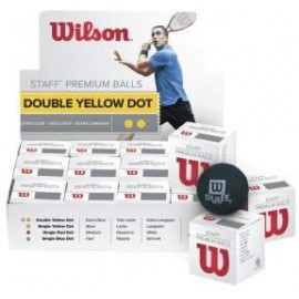 Wilson STAFF SQUASH BALL RED