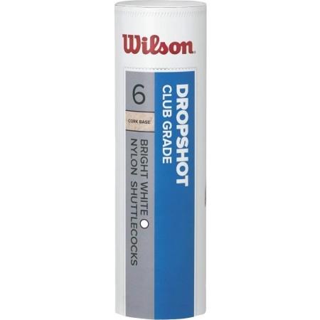 Badmintonový košík - Wilson DROPSHOT 6 TUBE YE