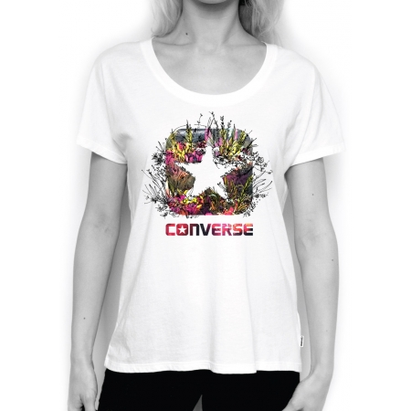 Dámské tričko - Converse PHOTO SKETCH FILL BOX STAR FEMME TEE - 2 e26752c7e4