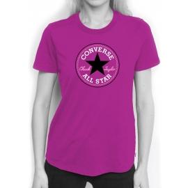 Converse CORE SOLID CHUCK PATCH CREW - Дамска тениска