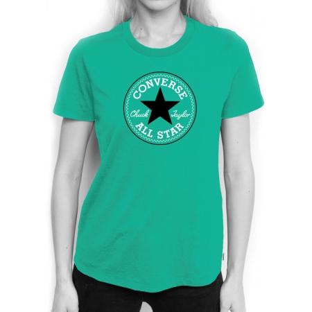 3e61e1c32184 Women s T-shirt - Converse CORE SOLID CHUCK PATCH CREW