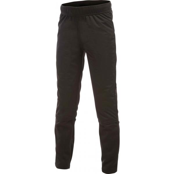 Craft WARM TIGHTS čierna 122-128 - Detské zateplené elastické nohavice