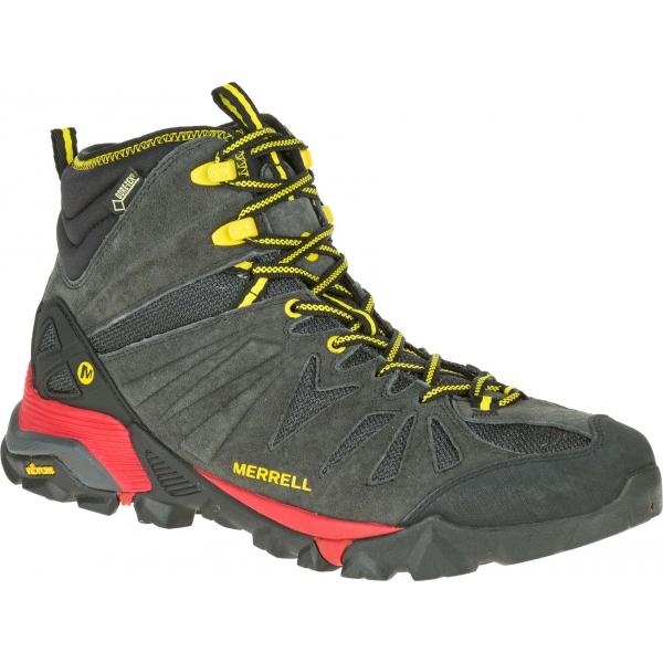 Merrell CAPRA MID GTX černá 9.5 - Pánská outdoorová obuv