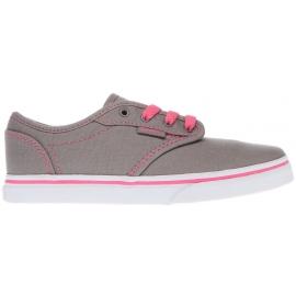 Vans MY ATWOOD LOW Grey/Pink Lemonade - Girls' sneakers