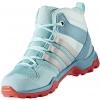 Dětská outdoorová obuv - adidas TERREX AX2R MID CP K - 7