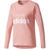 Women's T-shirt - adidas ESSENTIALS LINEAR LONGSLEEVE - 1