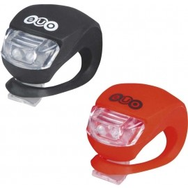 One ALIEN SET - Front and rear safety light