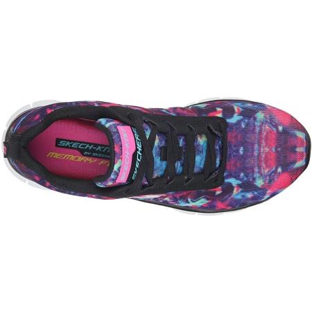 Dámské volnočasové boty - Skechers FLEX APPEAL-COSMIC RAYS - 4