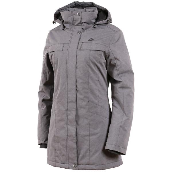 ALPINE PRO HADECA 2 šedá M - Dámský kabát