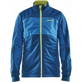 Craft WARM JUNIOR BUNDA - Dětská zateplená bunda pro běžecké lyžování