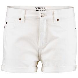 O'Neill LW BOYFRIEND WHITE SHORTS - Dámské šortky
