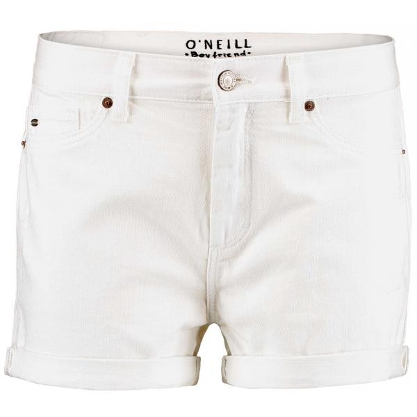 O'Neill LW BOYFRIEND WHITE SHORTS bílá 27 - Dámské šortky