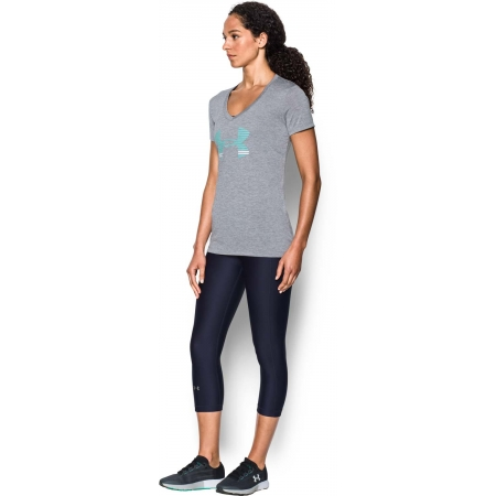 38482b45 Women's T-shirt - Under Armour TECH SSV GRAPHIC TWIST - 3