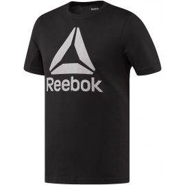 Reebok STACKED LOGO CREW NEW - Men's T-shirt