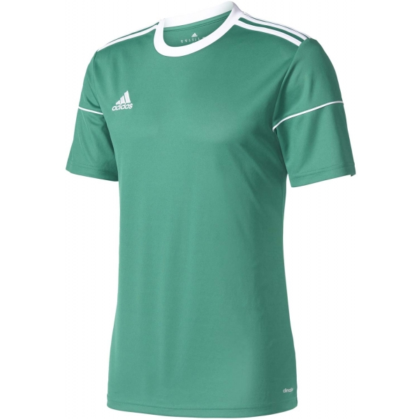 adidas SQUAD 17 JSY SS JR zelená 164 - Futbalový dres