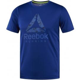 Reebok RUN GRAPHIC TEE - Мъжка тениска за бягане