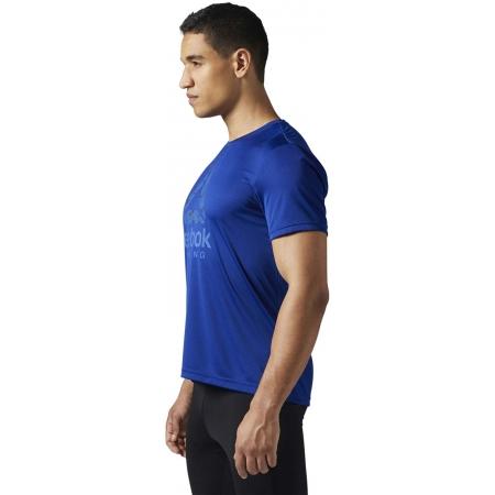 Pánské běžecké triko - Reebok RUN GRAPHIC TEE - 2