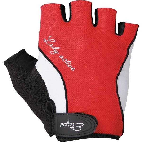 Etape RIVA červená M - Dámské rukavice