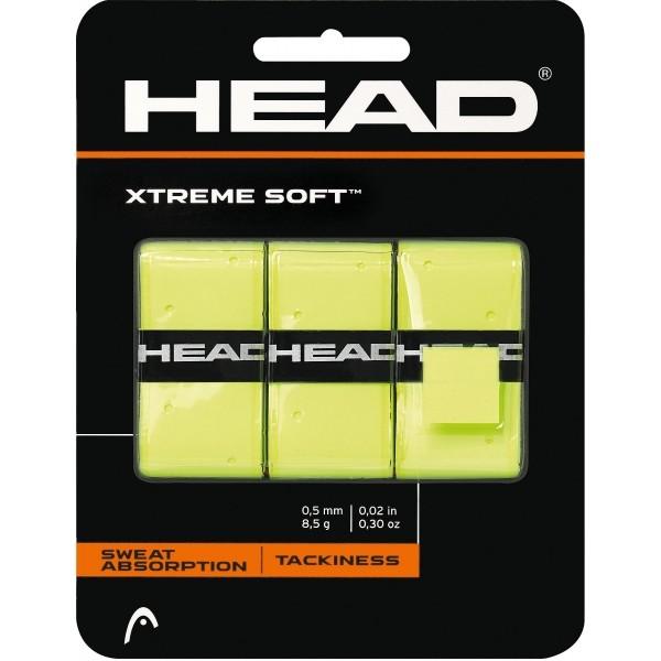 Head XTREME SOFT žlutá  - Tenisová omotávka