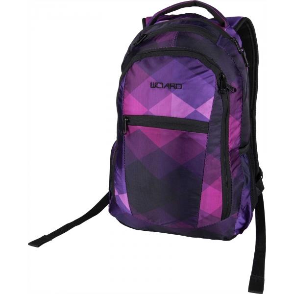 Willard CHIP 22 fialová  - Městský batoh