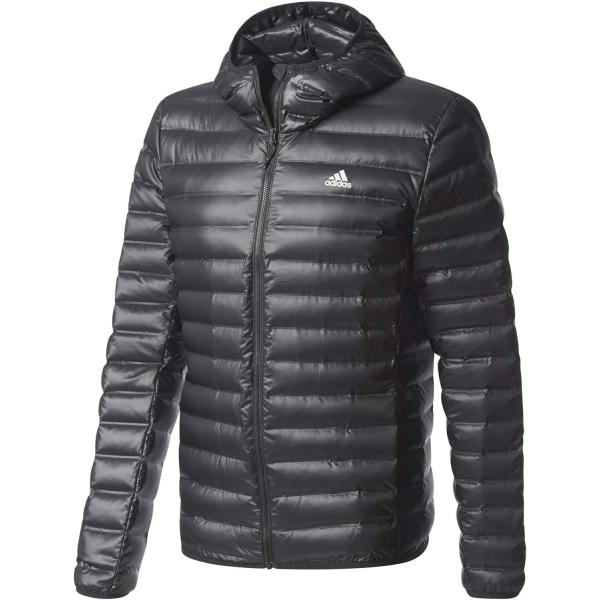 adidas VARILITE HOODED JACKET - Pánska bunda