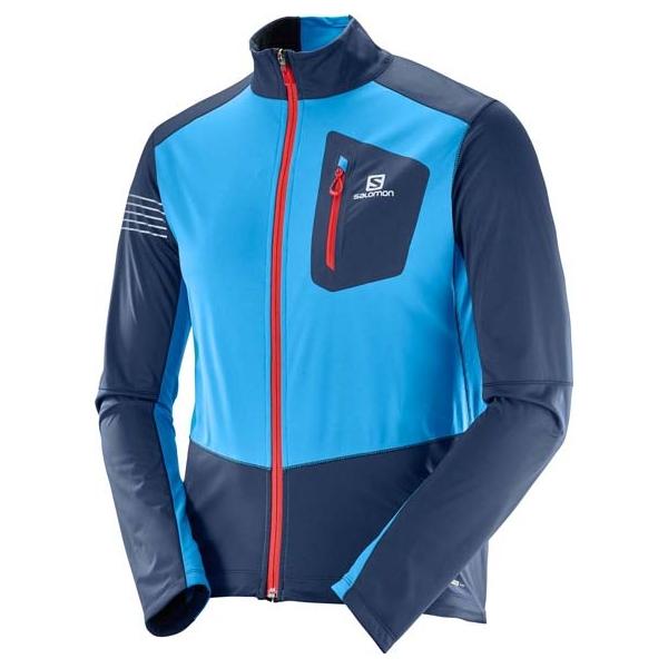 Salomon RS SOFTSHELL JKT M - Pánska bunda na bežky