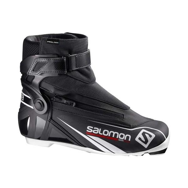 Salomon EQUIPE PROLINK fekete 8.5 - Férfi sífutó cipő