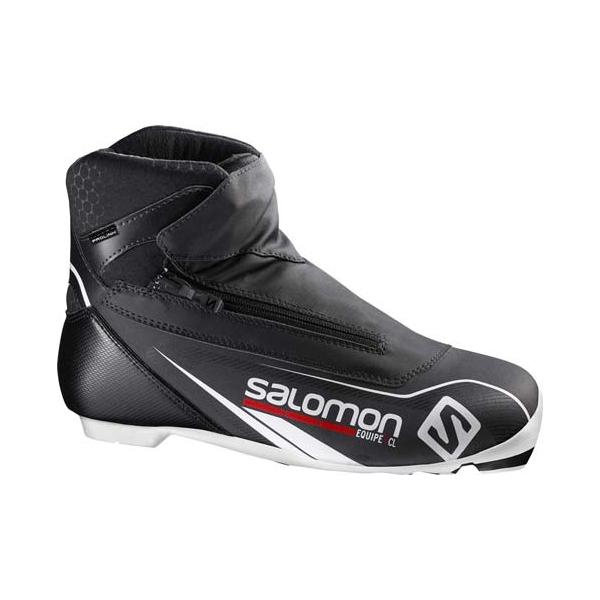 Salomon EQUIPE 7 CLASSIC PROLINK fekete 9.5 - Klasszikus sífutócipő