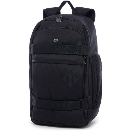 fa619c455603c Backpack - Vans M TRANSIENT III SKATE BACKPACK Black - 1