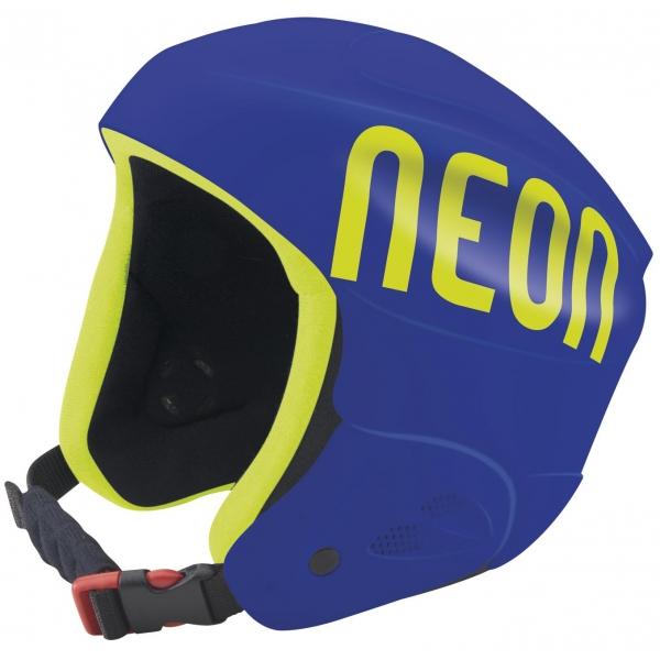 Neon HERO niebieski 56 - Kask narciarski