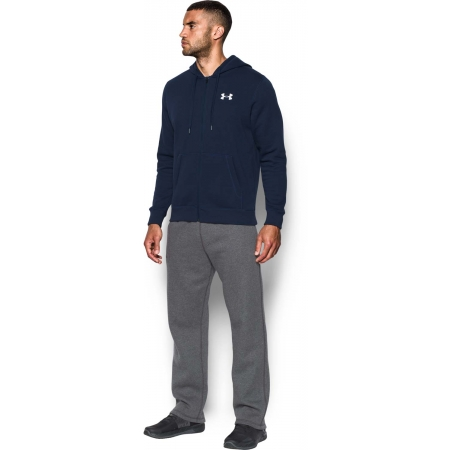 Pánska mikina - Under Armour RIVAL FITTED FULL ZIP - 3