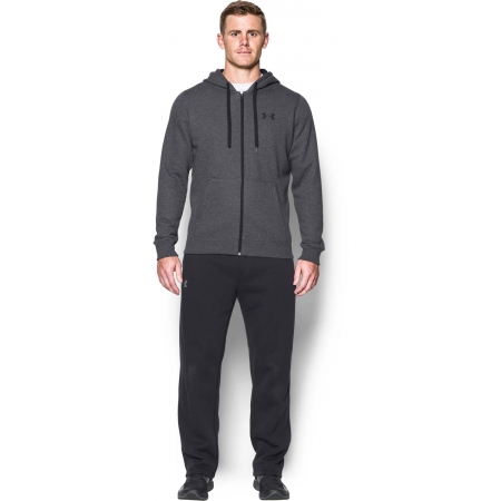 Pánska mikina - Under Armour RIVAL FITTED FULL ZIP - 4