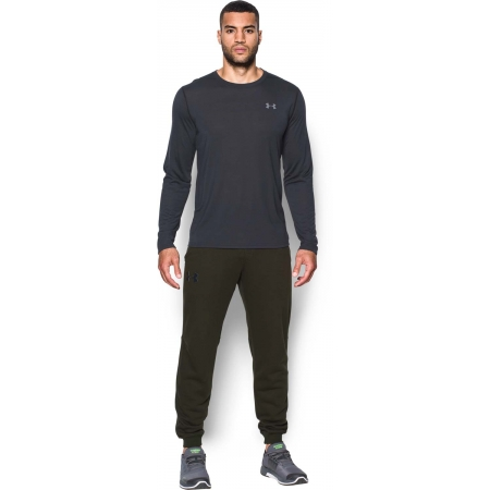 Pantaloni trening bărbați - Under Armour RIVAL COTTON JOGGER - 3