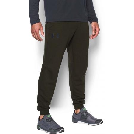 Pantaloni trening bărbați - Under Armour RIVAL COTTON JOGGER - 4