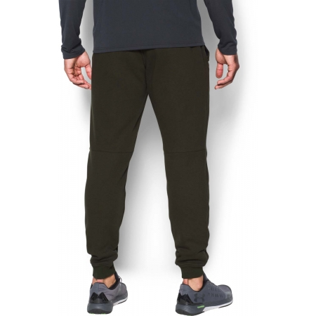 Pantaloni trening bărbați - Under Armour RIVAL COTTON JOGGER - 5