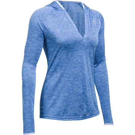 Hanorac damă - Under Armour TECH LS HOODY - TWIST - 1