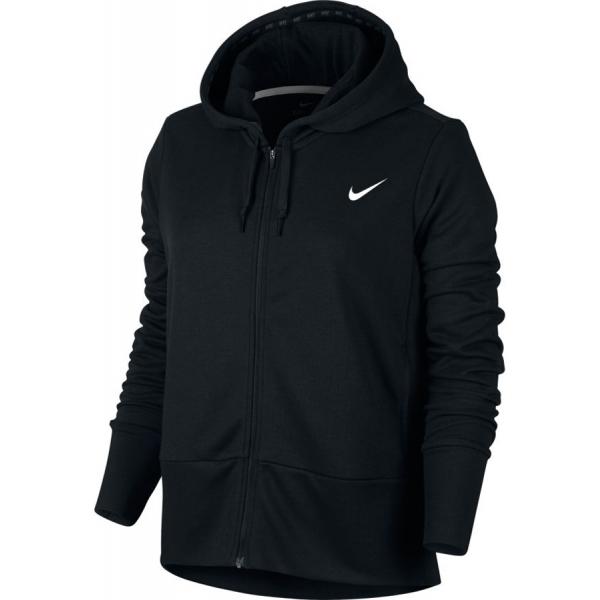 Nike DRY HOODIE FZ W tmavě šedá S - Dámská mikina