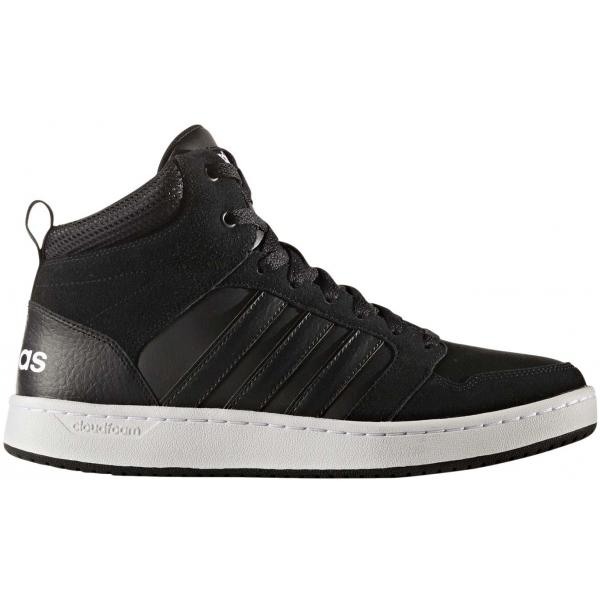 adidas CF SUPER HOOPS MID fekete 12 - Férfi magasszárú cipő