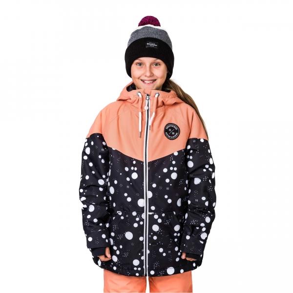 Horsefeathers FAY KIDS JACKET oranžová L - Dievčenské snowboardová/lyžiarska bunda