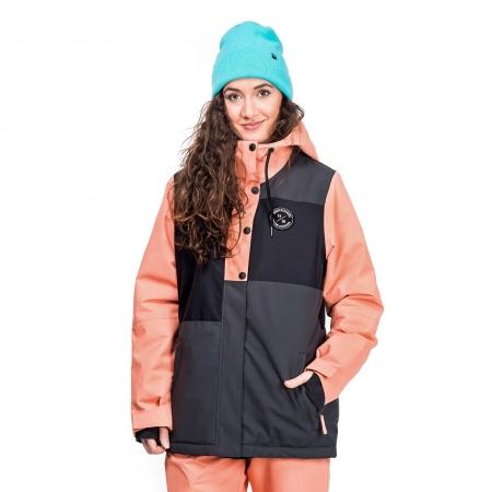 Dámska snowboardová lyžiarska bunda - Horsefeathers NELA JACKET - 1 d7f4f02bbe0