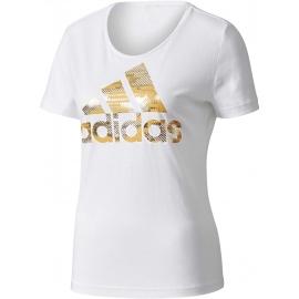 adidas ESS FOIL BOS REGULAR TEE - Damen T-Shirt
