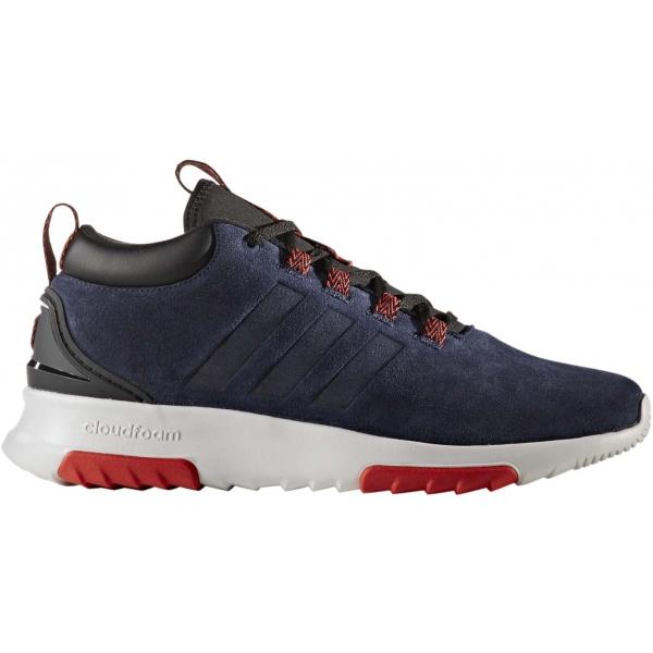adidas CF RACER MID WTR tmavě modrá 7.5 - Pánská lifestyle obuv