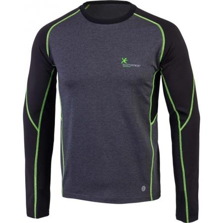 Pánské zimní triko s dlouhým rukávem - Klimatex DANUT - 1