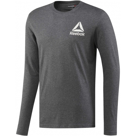 Men's T-shirt - Reebok LONG SLEEVE TEE 2 - 1