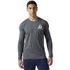 Men's T-shirt - Reebok LONG SLEEVE TEE 2 - 2