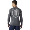 Men's T-shirt - Reebok LONG SLEEVE TEE 2 - 4