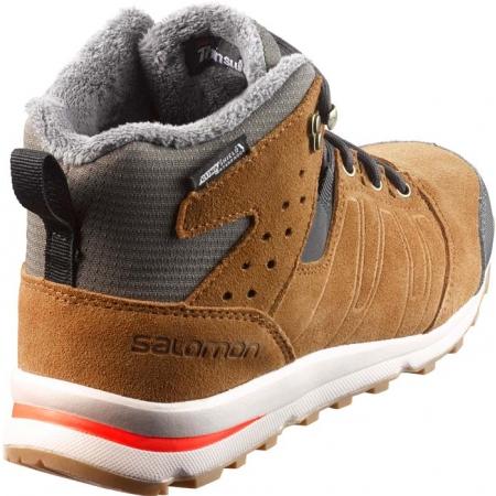 Juniorská zimní obuv - Salomon UTILITY TS CSWP J - 3