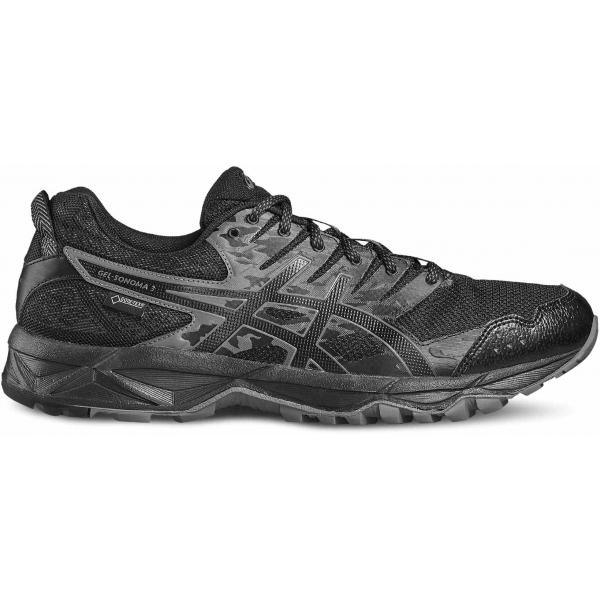 Asics GEL-SONOMA 3 G-TX černá 9.5 - Pánská trailová obuv